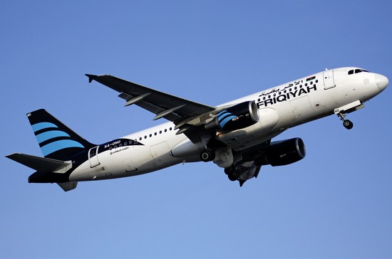 самолет Afriqiyah Airways